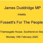 Meeting with James Duddridge MP